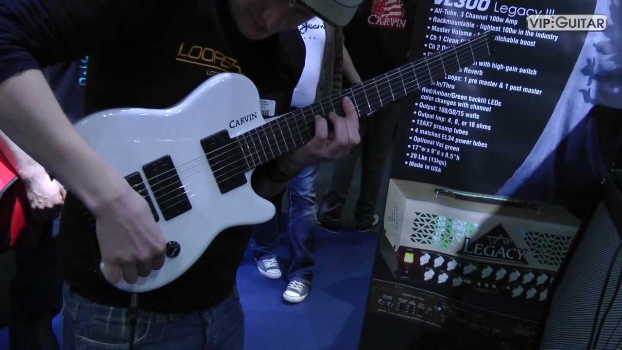 Musikmesse 2012 Carvin Amps Guitars