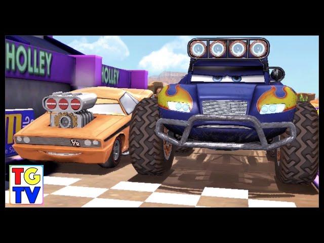 Disney Pixar Cars Blue Grit vs SnotRod, Boost | Cars Fast as Lightning