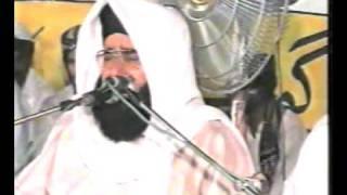 QARI MUHAMMAD UMAR SAEEDI mehfil-e-naat 2005 darbar mahni shreef jhang TELAWAT  part 1\2
