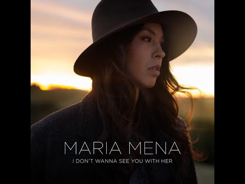 Maria Mena - I Don't Wanna See You With Her  Lyrics Video   مترجمة