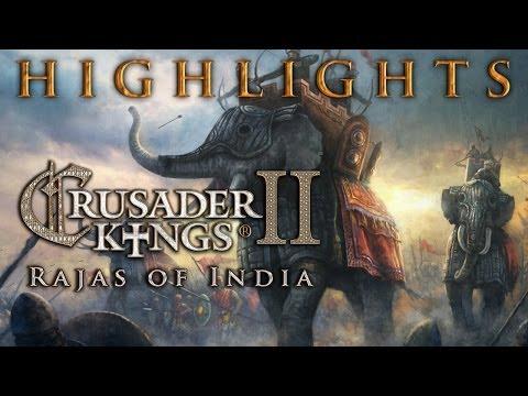Crusader Kings 2: Rajas of India out next week, alongside