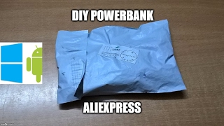 360) DIY powerbank unboxing(aliexpress)