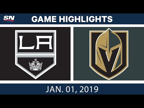 NHL Highlights | Kings vs. Golden Knights - Jan. 1, 2019