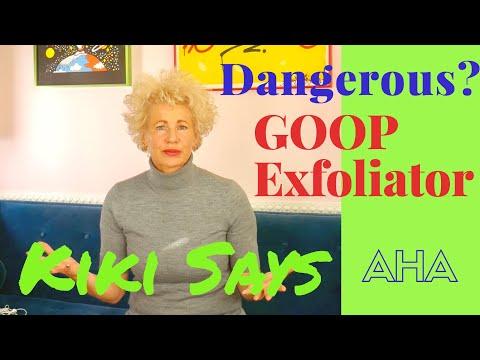 Warning: Goop Instant Facial  - AHA and Acid Alert
