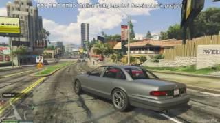 PS4 PRO vs PS4 GTA V Online Fully Loaded Session