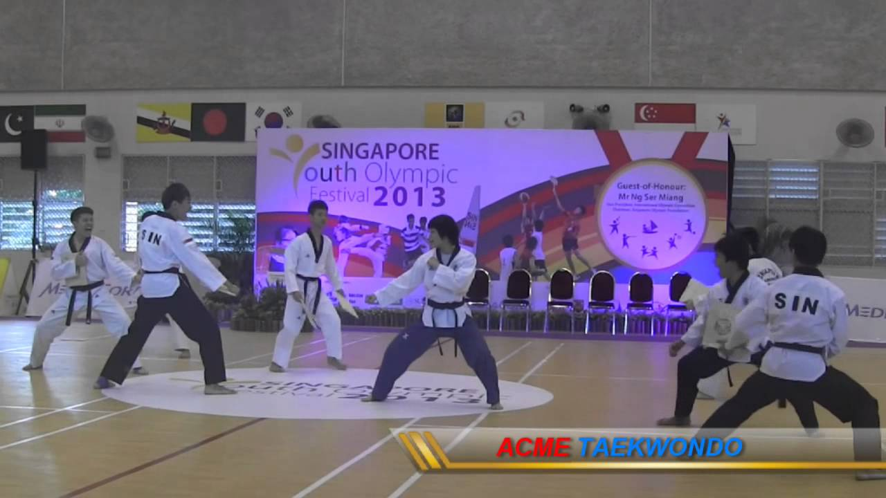 2nd Singapore Youth Olympic Festival 2013 (Demo)