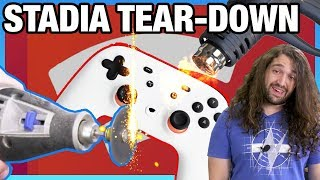 Google Stadia Controller Tear-Down & Disassembly Nightmare