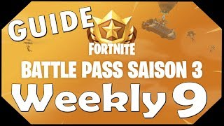 Fortnite Battle Royale Battle Pass Challenge 9 Guide
