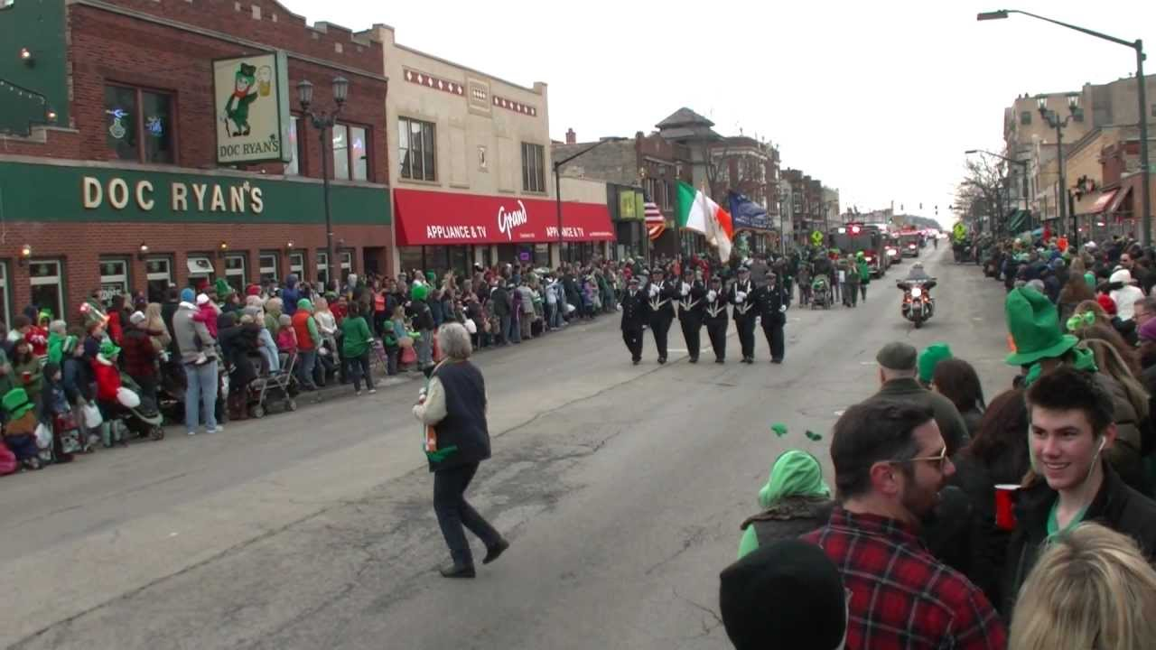 Forest Park St Patrick S Day Parade 2013 Part 1 Lights