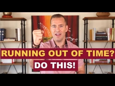 Running Out Of Time? Do This | Dating Advice For Women By Mat Boggs