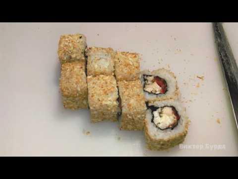 Ролл Цезарь. Как можно вкусно приготовить дома, красивые суши, роллы, гунканы, спайси.