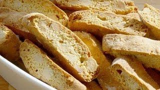 Biscotti - (cantucci Biscotti Di Prato) - Italian Almond Biscuits