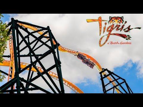 Tigris busch gardens tampa new for 2019 roller coaster - Roller coasters at busch gardens ...