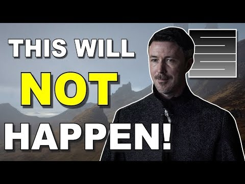 Littlefinger Faked His Death? - Game Of Thrones Season 8