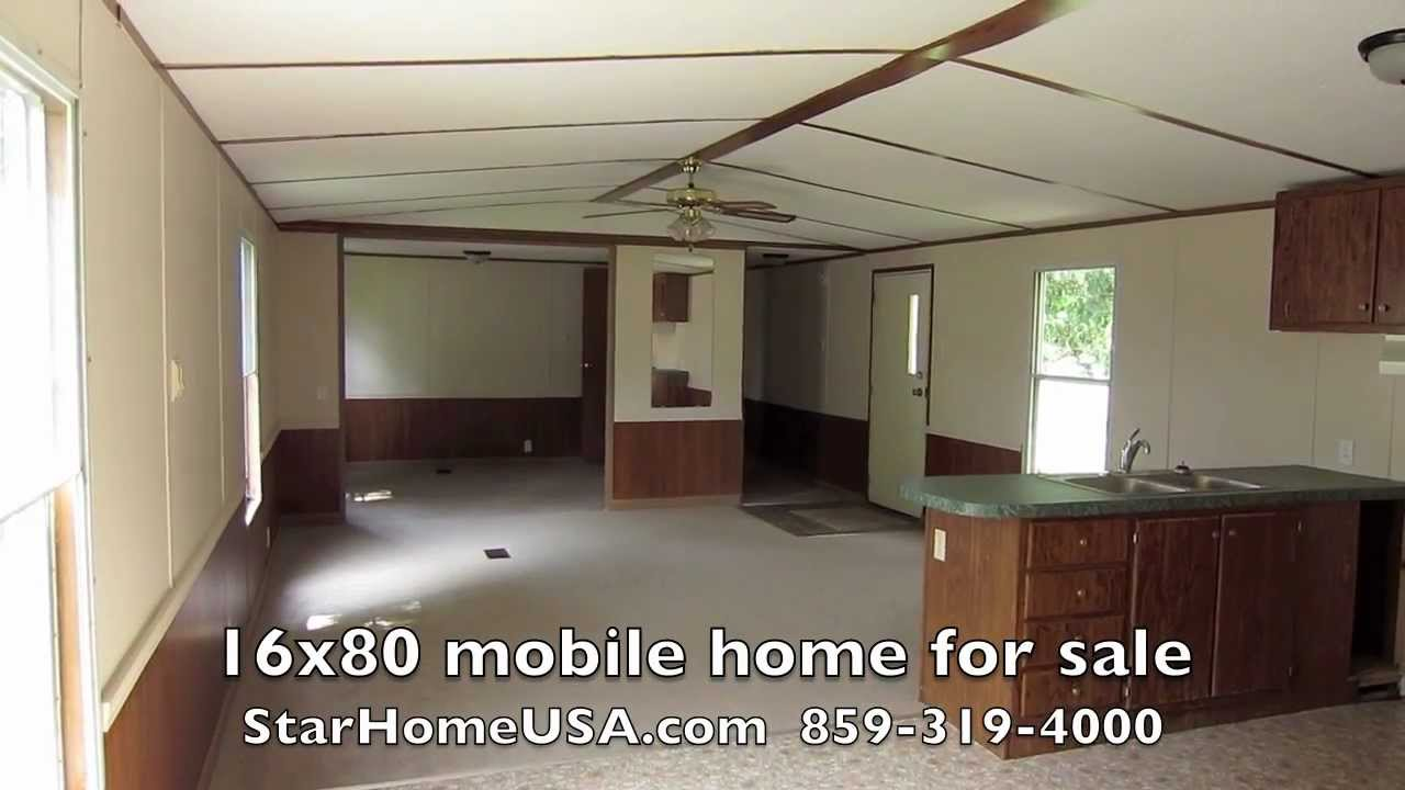 232 - 16x80 Mobile home for sale Owner Finance Danville, Kentucky KY