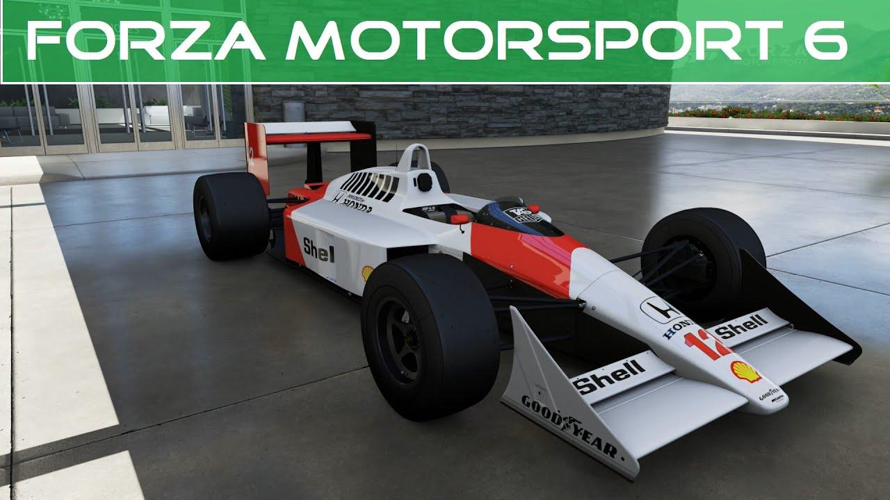 Forza Motorsport 6 - 1988 McLaren #12 Honda McLaren MP4/4 (eBay ...