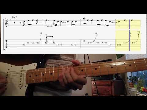 Chris Stapleton 'I Was Wrong' - Guitar Solo (TABS)