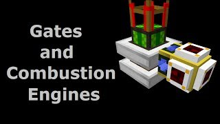 Using Gates to Stop Engines Overheating (Tekkit/Feed The Beast) - Minecraft In Minutes