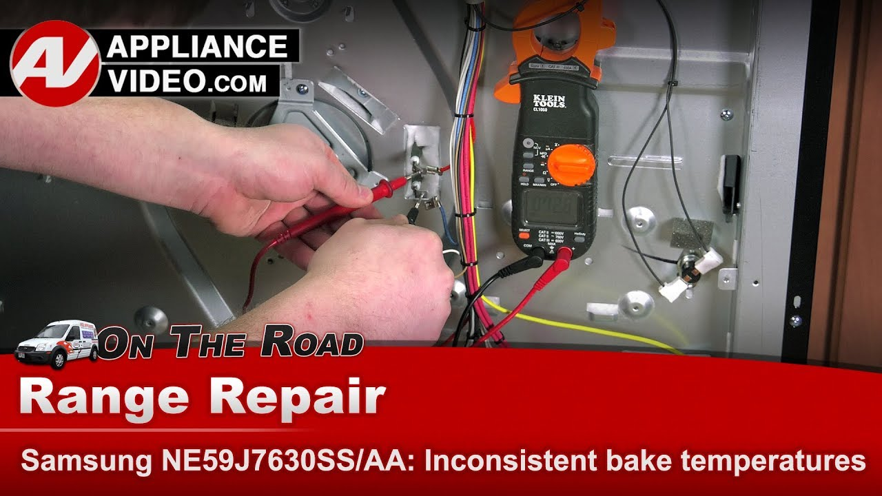 Samsung Range / Oven - Not baking or heating correctly - Diagnostic & Repair