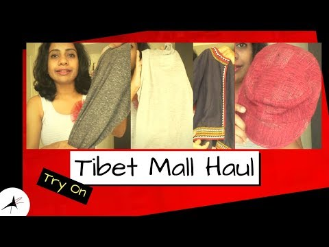Tibet Mall Bangalore Try On Haul & Review | Arpitharai
