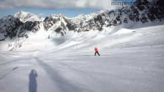 Самоучитель по горным лыжам. Второй день обучения.