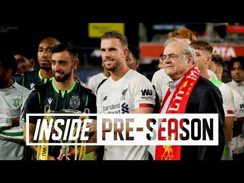 Inside Pre-Season: Liverpool 2-2 Sporting Lisbon - Yankee Stadium, New York