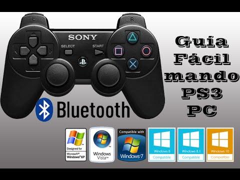 Guía DEFINITIVA Para Conectar Mando Ps3/4 Fácil En Pc | Cable O Bluetooth | MEGA | Windows 10 | 2018