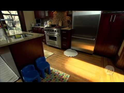 How to baby proof your kitchen cabinets youtube for Baby proof kitchen cabinets