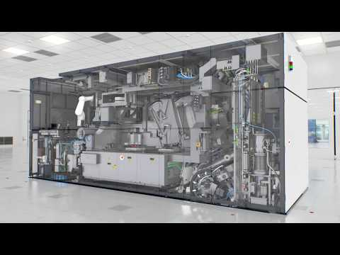 EUV Lithography In Action - Inside The TWINSCAN NXE:3400 EUV Lithography Machine | ASML
