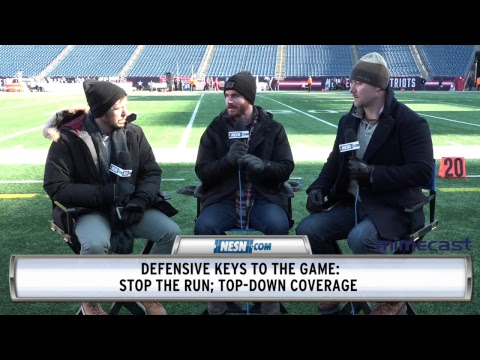 NESN Pregame Chat: 2018 AFC Divisional Round, Chargers vs. Patriots, presented by Mimecast