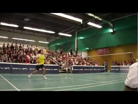 Badminton Footwork - Lin Dan (right hand)
