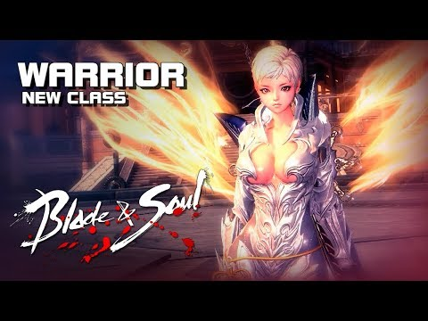 Blade & Soul – Warrior (New Class) – Training Gameplay – PC – F2P – KR