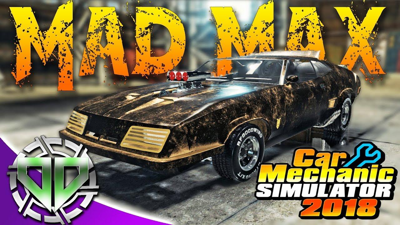 Car Mechanic Simulator 2018 : Mad Max Interceptor! 1973 Ford Falcon XB GT Coupe! (PC) - YouTube