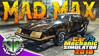 Car Mechanic Simulator 2018 Mad Max Interceptor 1973 Ford Falcon