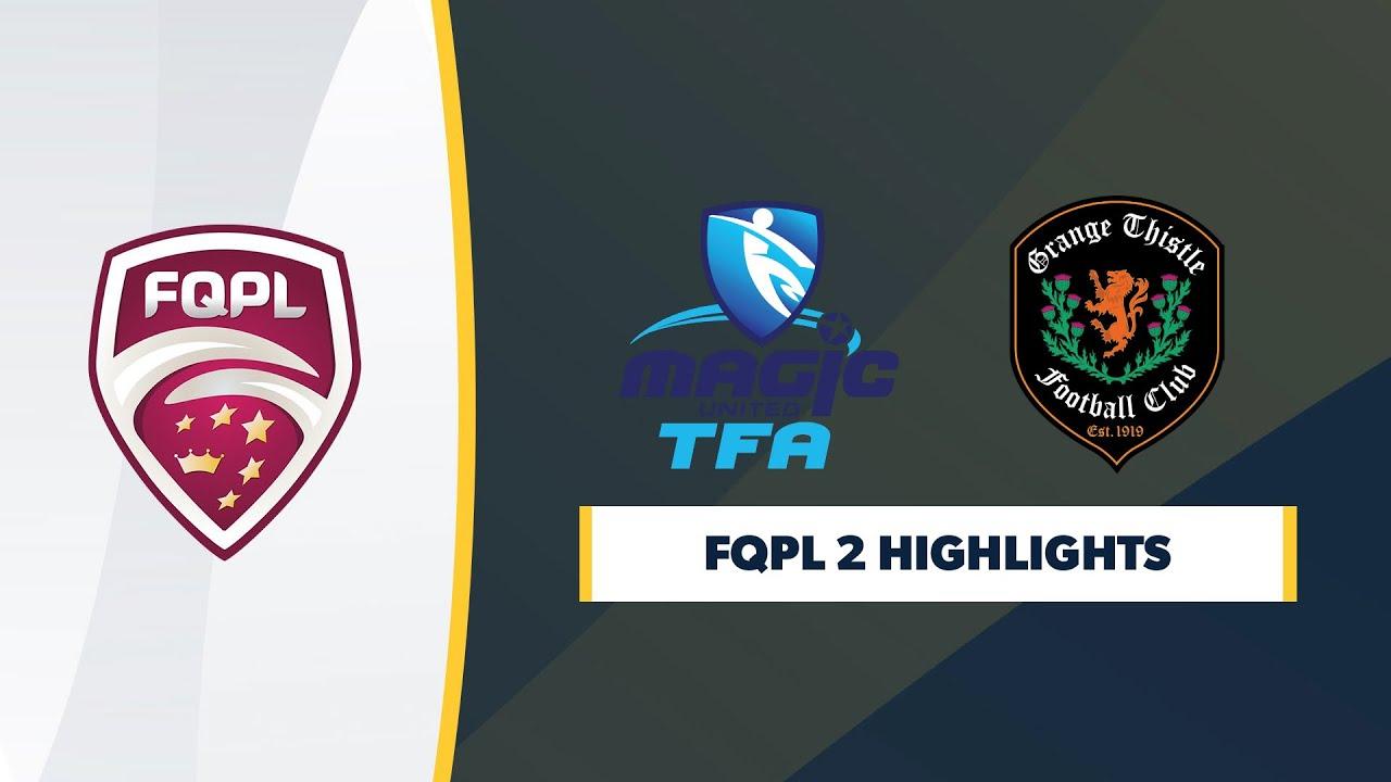 FQPL 2 R6 - Magic United vs. Grange Thistle Highlights