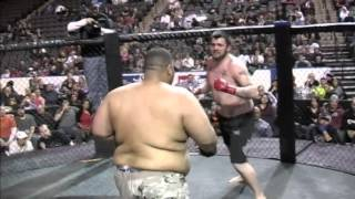 Fight 08:  Tyler Reece vs. Wesley Wilson (Super Heavy Title)