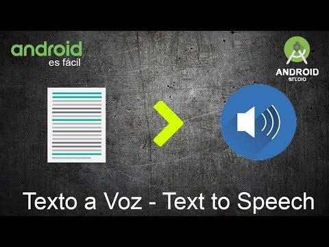 79-Texto a Voz-Text to speech-Android Studio
