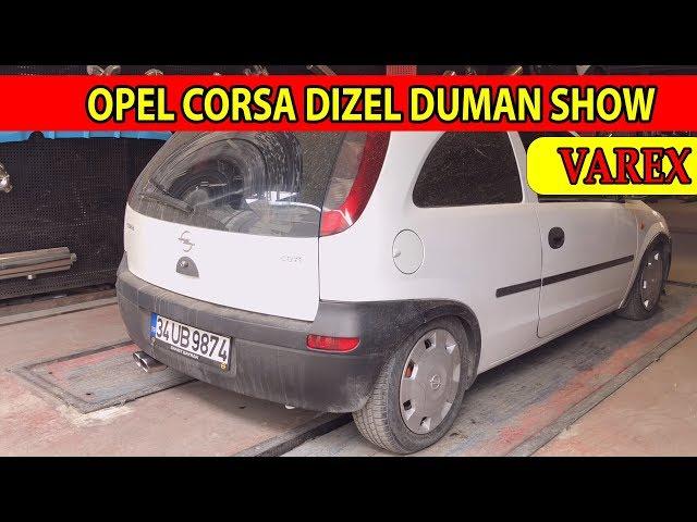 OPEL CORSA 1.7 DİZEL KUMANDALI VAREX EGZOZ SESİ