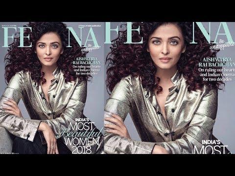 Aishwarya Rai On Femina Cover 2018, Red Hair Debut | India Most Beautiful Women 2018