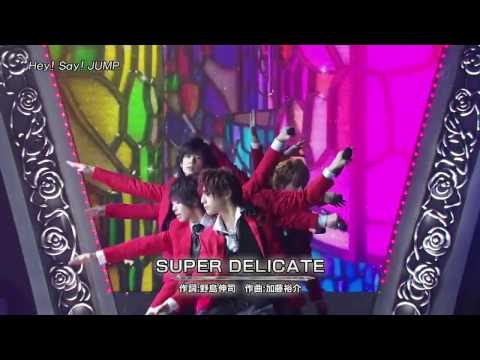 Hey! Say! Jump   SUPER DELICATE