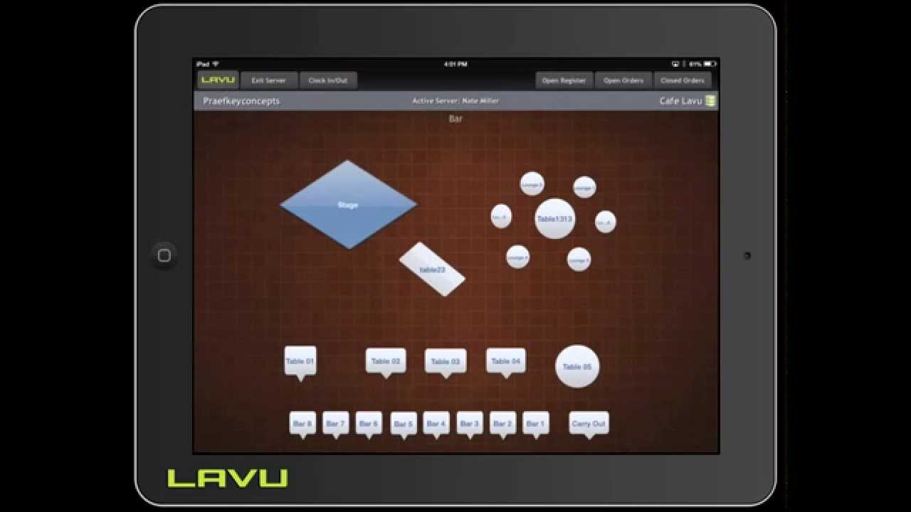 Download Lavu POS Front Of House Options