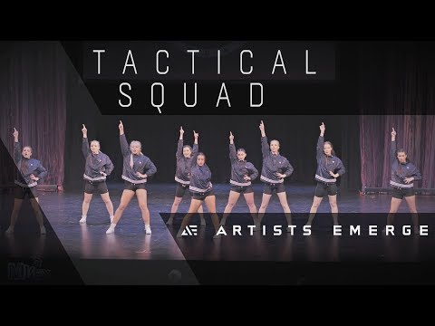 [2nd Place] TACTICAL SQUAD |  VARSITY ALL-STARS  |  Artists Emerge 2018