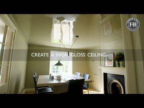 Farrow & Ball | Create A High Gloss Ceiling
