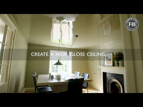 Farrow & Ball | Create A High Gloss Ceiling