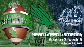 Mean Green Gameday - Season 3, Week 9 vs ODU