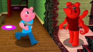GEORGE PIGGY vs PARASEE.. (Distorted Memory)