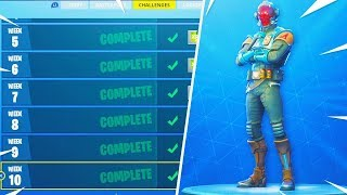 What happens when you Complete ALL the CHALLENGES! (*NEW* BLOCKBUSTER Custom Skin)