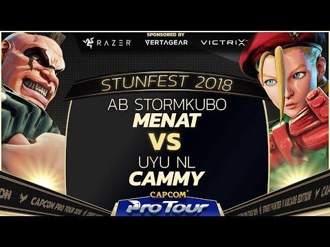 AB StormKubo (Abigail) vs UYU NL (Cammy) - Stunfest 2018 Top 32 - SFV - CPT 2018