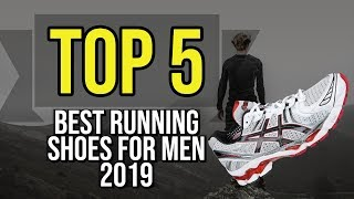 ✅ TOP 5: Best Running Shoes For Men 2019