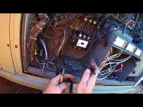 HVAC on the Job Training ~ Changing a 480 volt 3 phase contactor